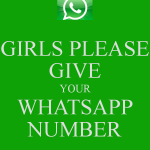 Girls Whatsapp Numbers List for Chat/ Sexting
